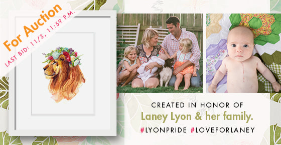 Lyon Pride by Stephie Jones for CHKD and Howard Hanna