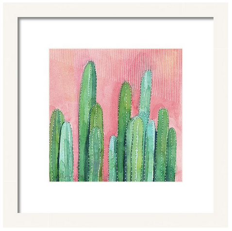 Art Print - Honey, We Have Javalinas painting by Virginia Beach Artist Stephie Jones
