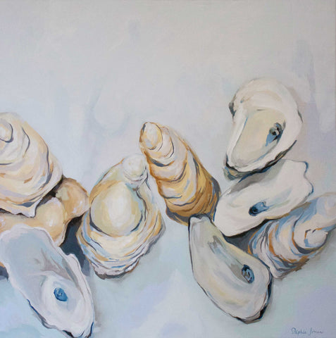 Le Sel Original Painting painting by Virginia Beach Artist Stephie Jones