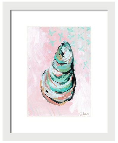 Let Go The Stone - Art Print painting by Virginia Beach Artist Stephie Jones