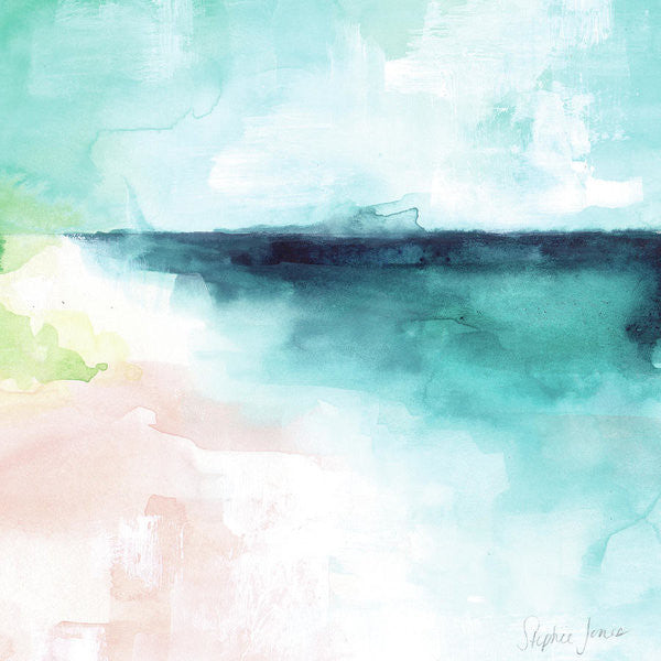 All Is Calm, Print painting by Virginia Beach Artist Stephie Jones