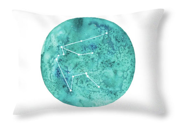 Throw Pillow - Aquarius