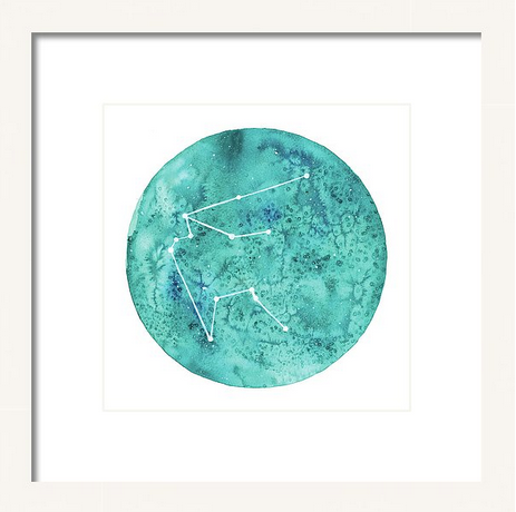 Art Print - Aquarius painting by Virginia Beach Artist Stephie Jones