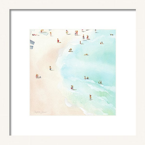Art Print - Azul painting by Virginia Beach Artist Stephie Jones