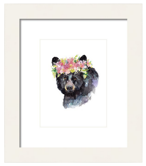 Mama Bear, Original Painting painting by Virginia Beach Artist Stephie Jones
