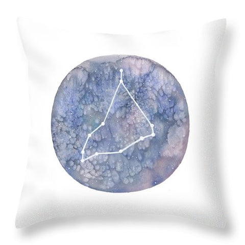 Throw Pillow - Capricorn painting by Virginia Beach Artist Stephie Jones