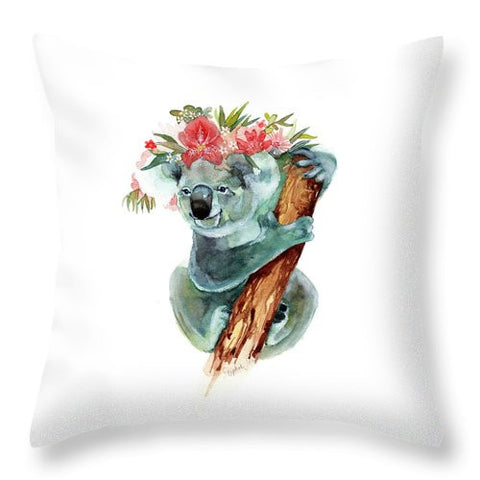 Throw Pillow - Coco The Koala