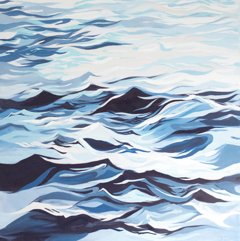 Crescendo, Original Painting painting by Virginia Beach Artist Stephie Jones