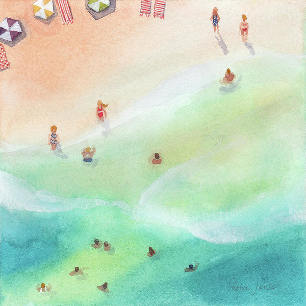 Fountain Of Youth, Print painting by Virginia Beach Artist Stephie Jones