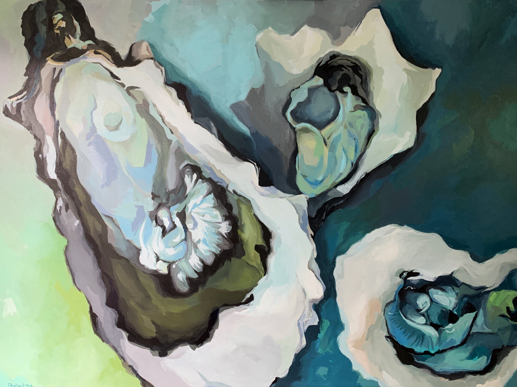 Wild and Calm, Original Painting painting by Virginia Beach Artist Stephie Jones