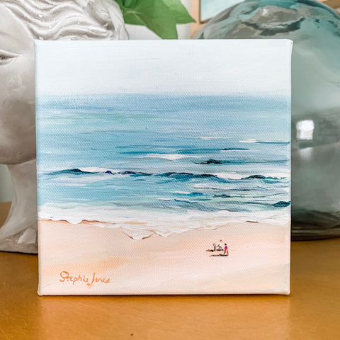 These are the Days painting by Virginia Beach Artist Stephie Jones