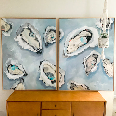 """To Have"" and ""To Hold"", Original Paintings"