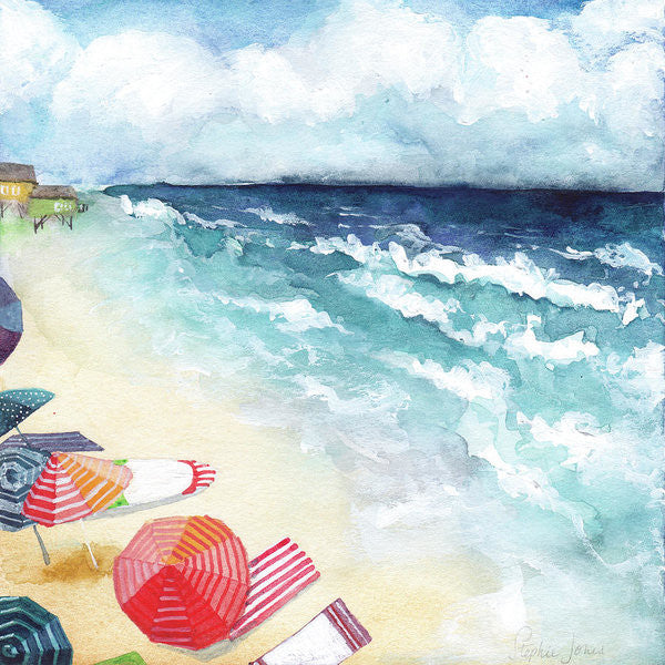 Kodachrome, Print painting by Virginia Beach Artist Stephie Jones