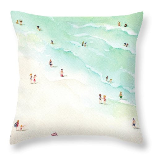 Throw Pillow - La Playa