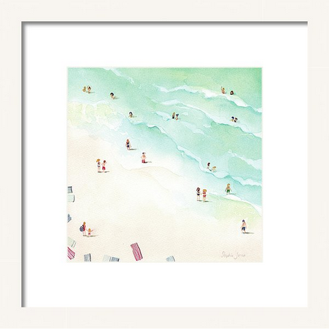 Art Print - La Playa painting by Virginia Beach Artist Stephie Jones