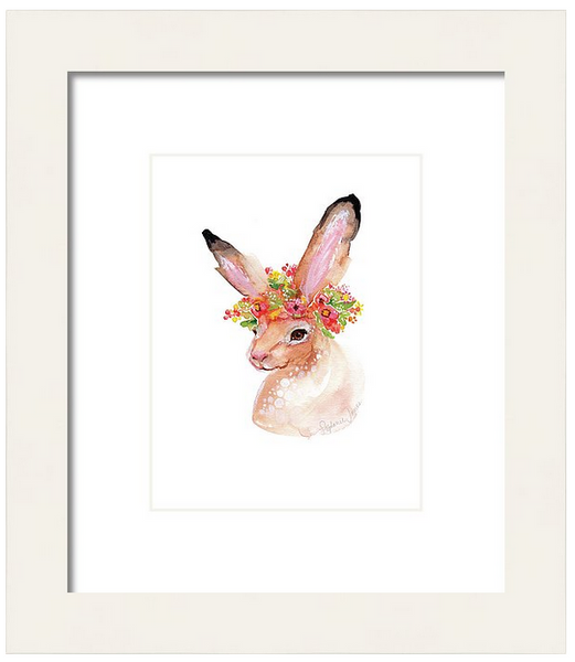 Summer Hare, Original Painting