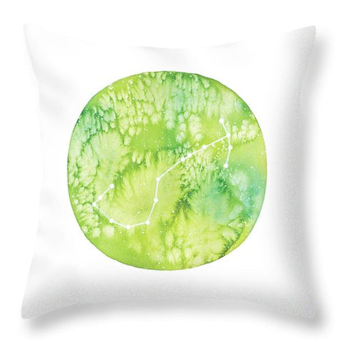 Throw Pillow - Scorpio painting by Virginia Beach Artist Stephie Jones