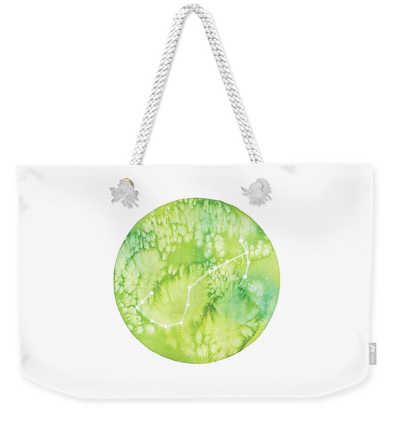 Weekender Tote Bag - Scorpio painting by Virginia Beach Artist Stephie Jones
