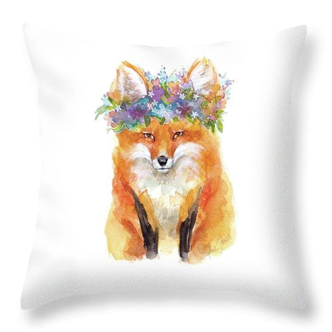 Throw Pillow - Sweet Ambrosia painting by Virginia Beach Artist Stephie Jones