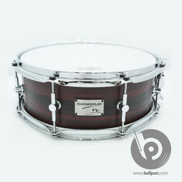 "Phenol Fiber 14"" x 5.5"" Snare Drum in Autumn Haze"