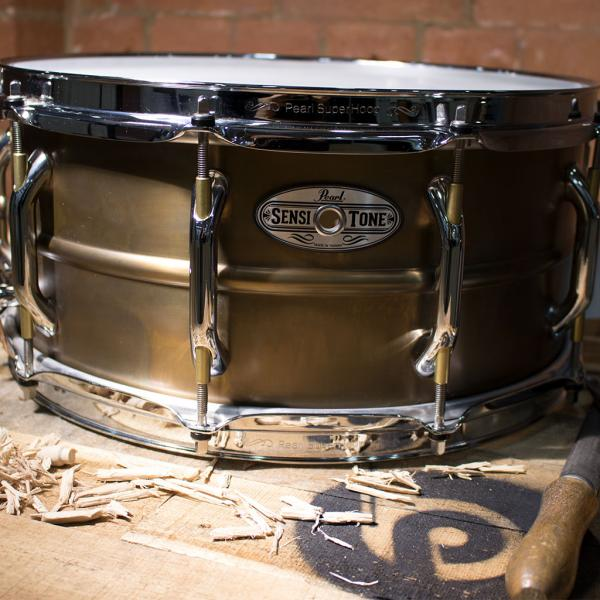 "14"" x 6.5"" Brass Sensitone Snare Drum"