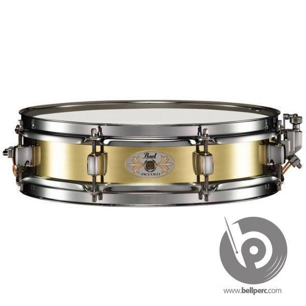 "Pearl 13"" x 3"" Piccolo Brass Snare Drum"