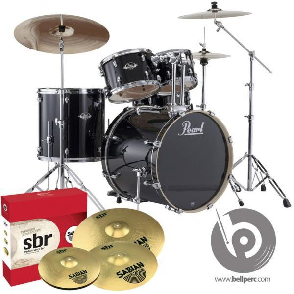 "Pearl Export 20"" Fusion - Jet Black"