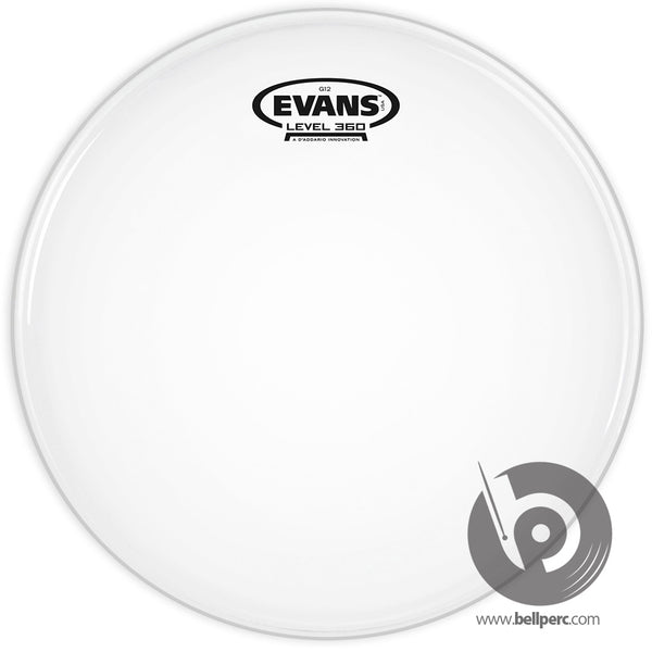 "Evans 14"" G12 Coated White"