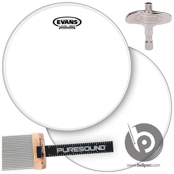 Evans Snare Drum Power Pack