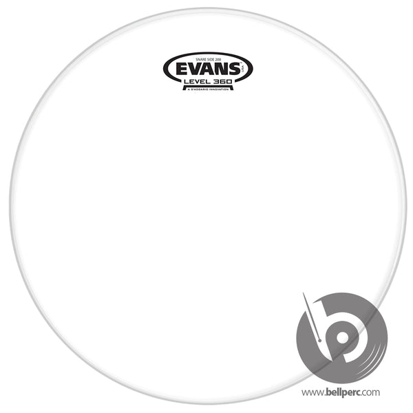 "Evans 14"" Clear 200 Hazy Snare Side"