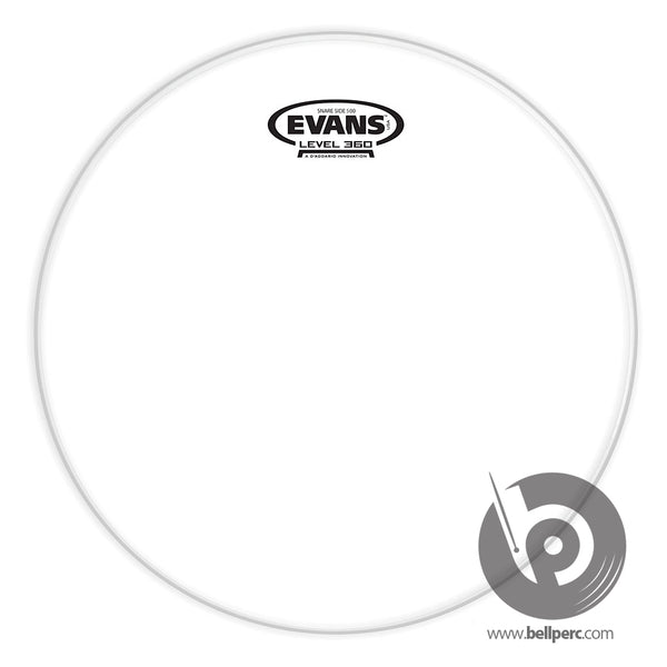 "Evans 14"" Clear 500 Hazy Snare Side"