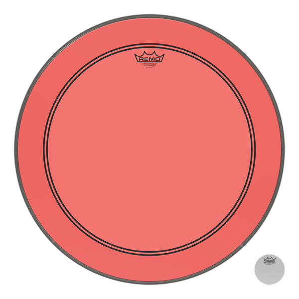 "Remo 18"" P3 Colortone - Red"