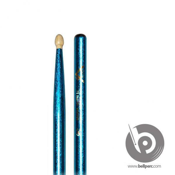 Vater 5B Colour Wrap Wood Blue Sparkle