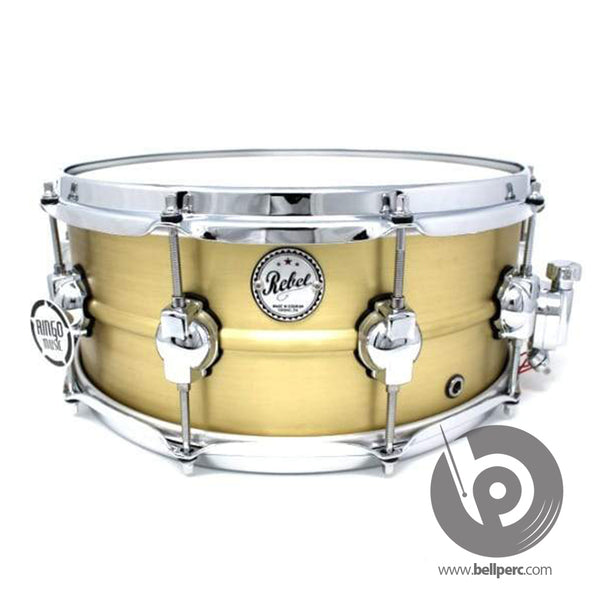 "DS Drums 14"" x 6"" Brass Snare Drum"