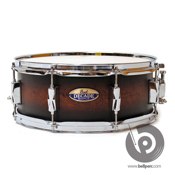 Pearl Decade 14x5.5 Snare - Brown Burst