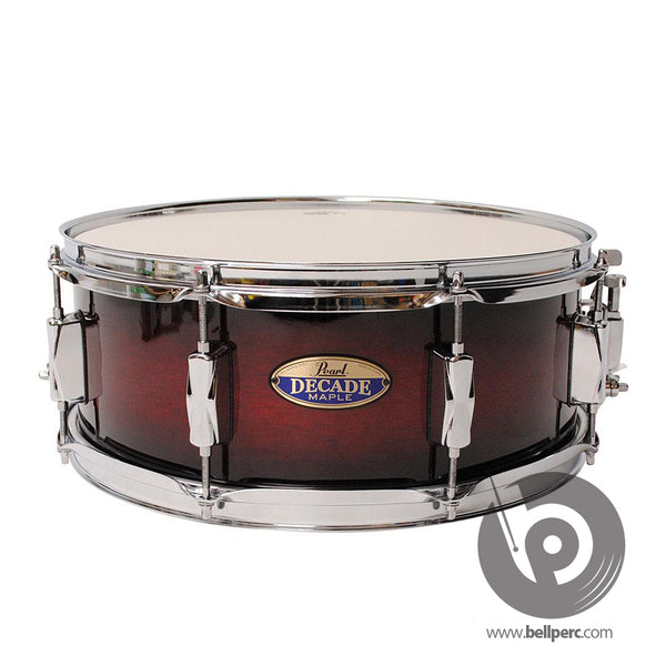 Pearl Decade 14x5.5 Snare - Red Burst