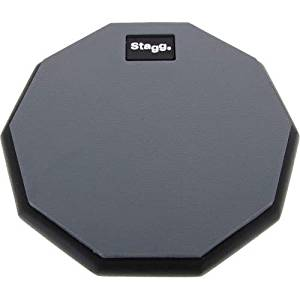 "Stagg 8"" Practice Pad - 10 Sided"