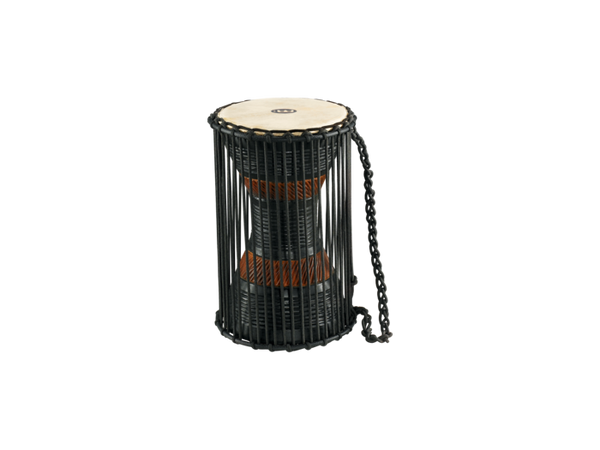 "Meinl African 12"" x 7"" Wood Talking Drum"