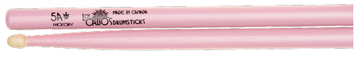 Los Cabos 5A Pinks White Hickory Drumsticks