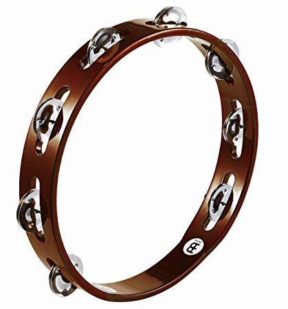 Meinl TA1AB Wood Tamb 1-Row Steel