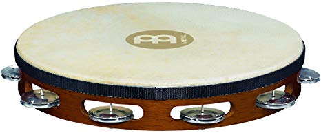 Meinl Wood Tambourine With Goat One Row