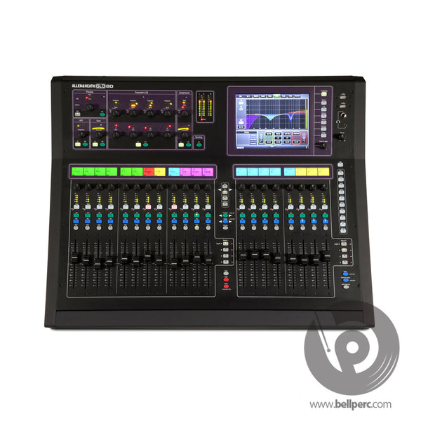 Bell Music Allen and Heath GLD80 Digital Mixing Desk for Hire