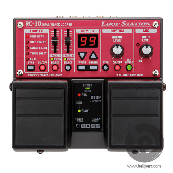 bellperc Boss RC-30 Loop Station - bellperc.com