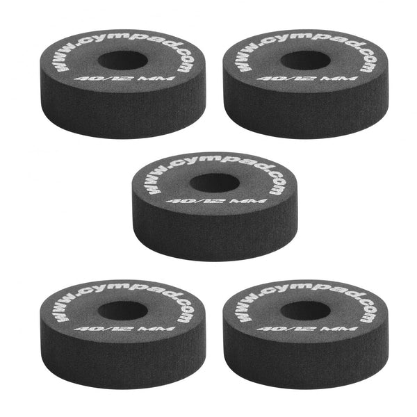 Cympad Chromatics 40/15mm (5pack) Black