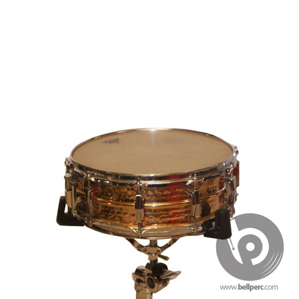 "Bell Music Ludwig 14"" x 5"" Hammered Bronze Snare Drum for Hire"