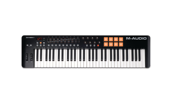 Bell Music M Audio Oxygen 61 Midi Keyboard to Hire