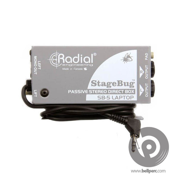 Bell Music Radial StageBug SB-5 Stereo DI Box to Hire