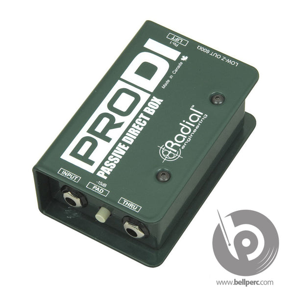 Bell Music Radial StageBug SB-2 Mono DI Box for Hire