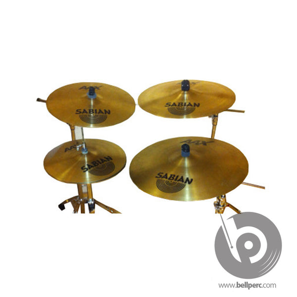 Bell Music Silent Cymbal Pack for Hire