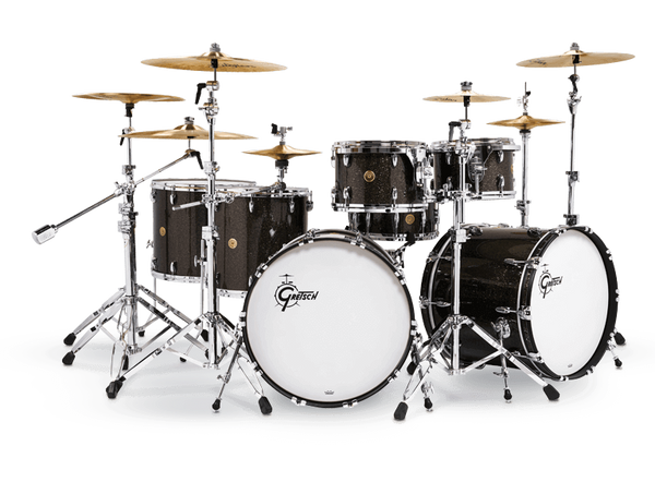 Gretsch USA Custom Drum Kit in Black
